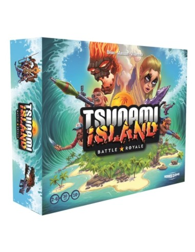 Tsunami Island : Battle Royale