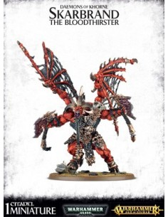 SKARBRAND THE BLOODTHIRSTER EN PLASTIQUE