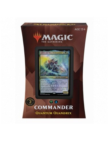 Deck Commander Strixhaven Quandrix quantique