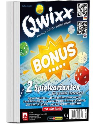 Qwixx - bonus bloc